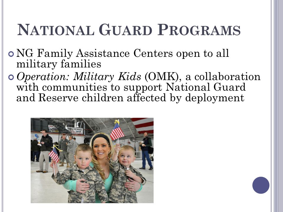 National Guard Programs