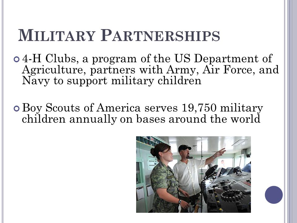 Military Partnerships