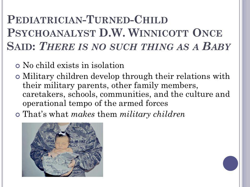 Pediatrician-Turned-Child Psychoanalyst D. W