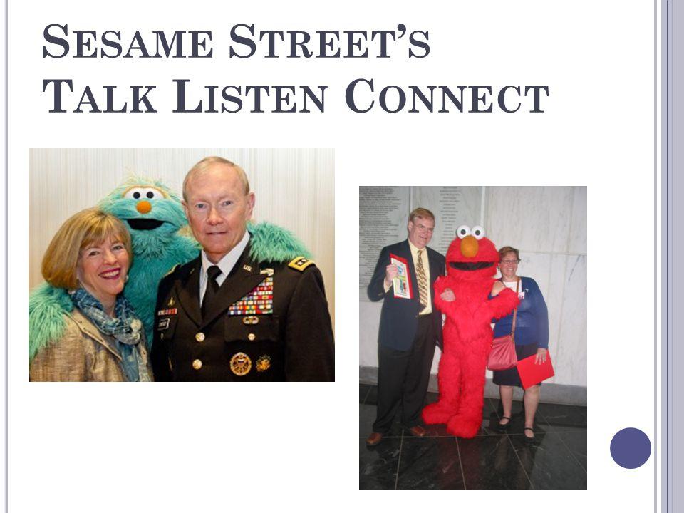 Sesame Street's Talk Listen Connect