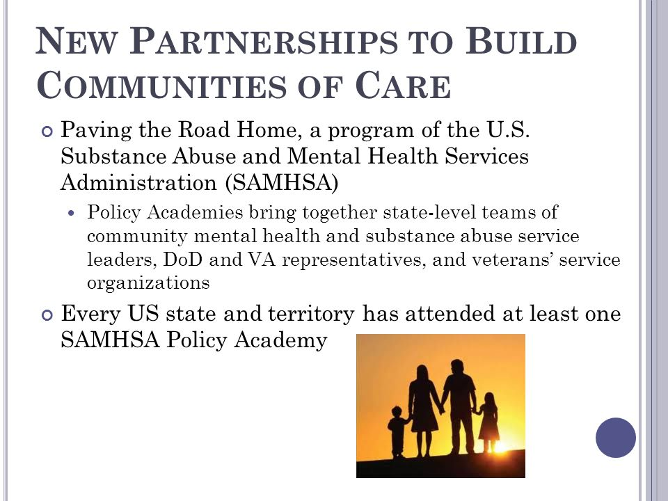 New Partnerships to Build Communities of Care