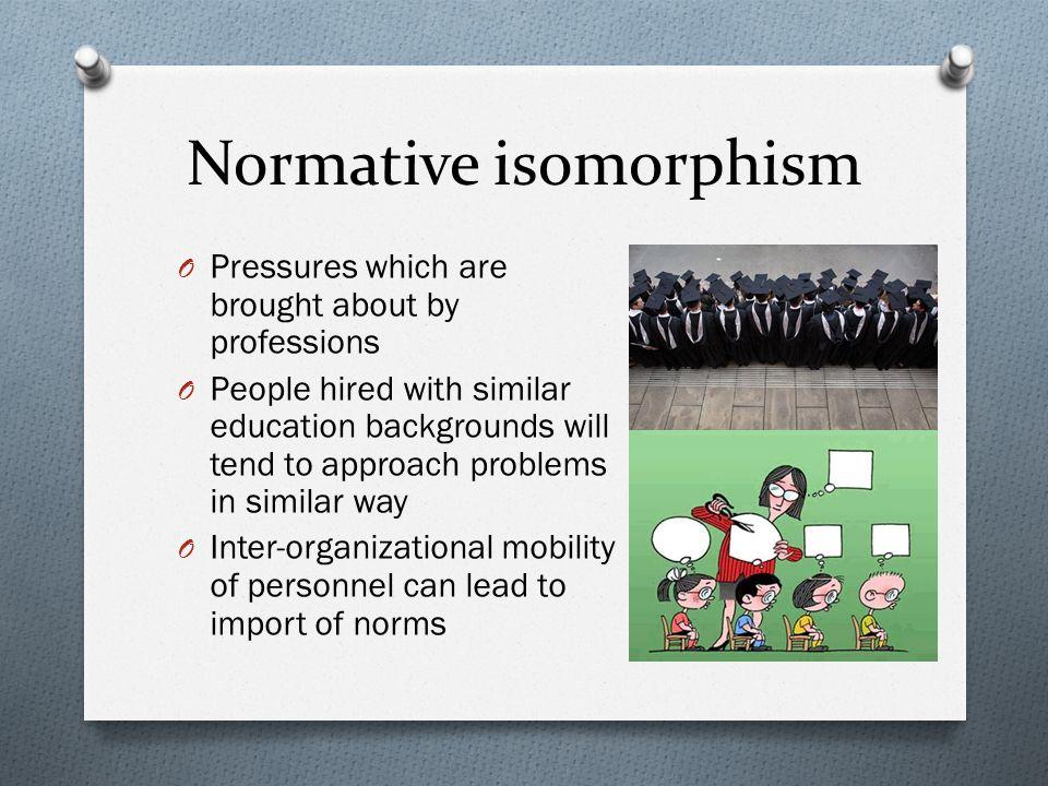 Normative isomorphism