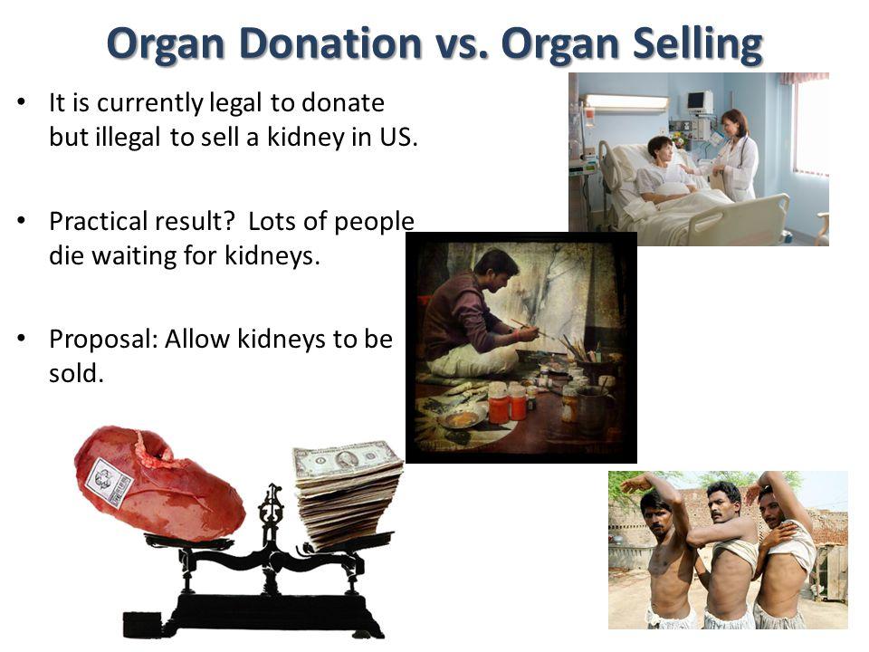 Organ Donation vs. Organ Selling