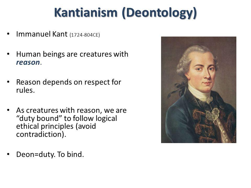 Kantianism (Deontology)