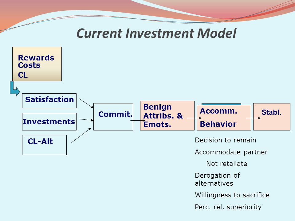 Current Investment Model