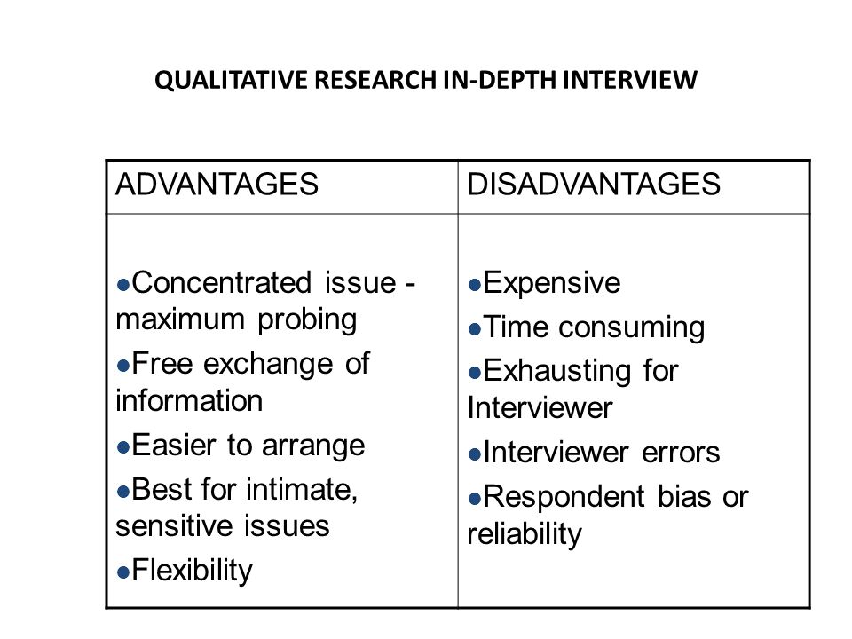 qualitative research benefits International journal of qualitative methods 2014, 13 38 as qualitative research has evolved, researchers in the field have struggled with a persistent.