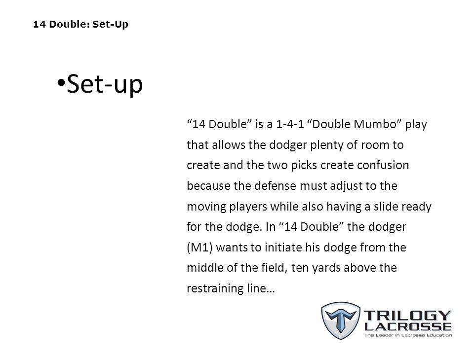 14 Double: Set-Up Set-up.