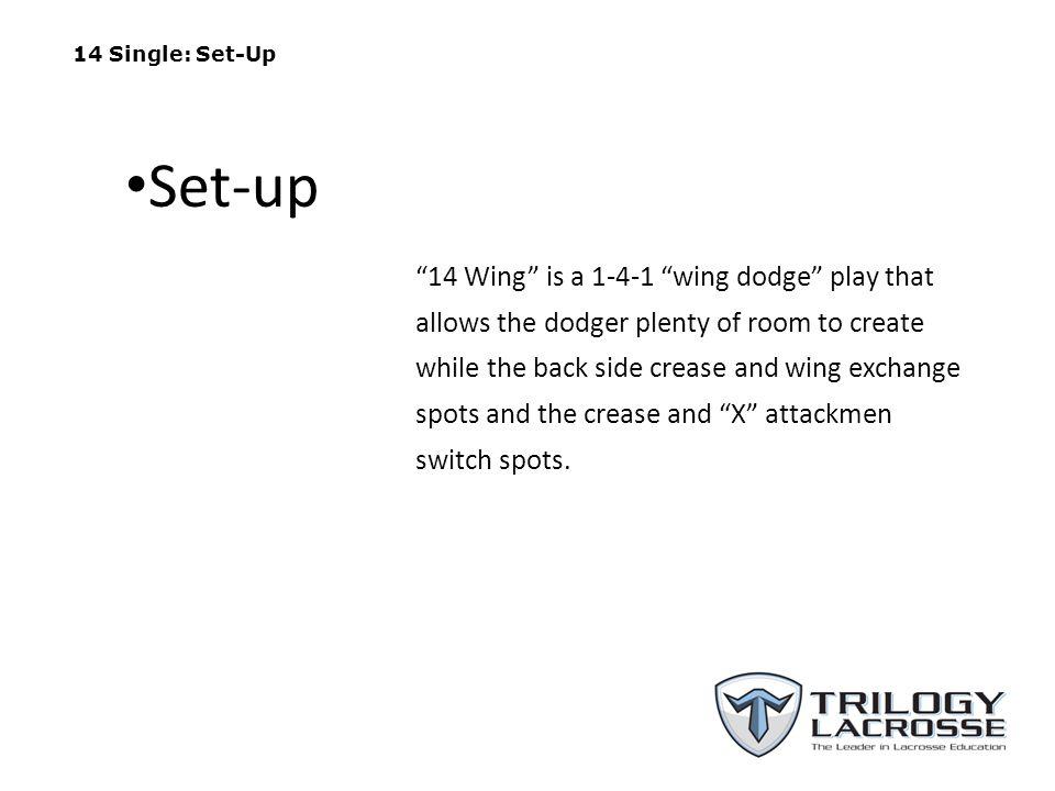 14 Single: Set-Up Set-up.