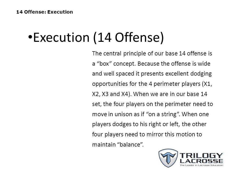 14 Offense: Execution Execution (14 Offense)