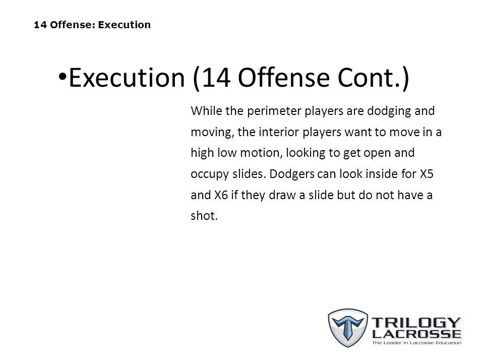 Execution (14 Offense Cont.)