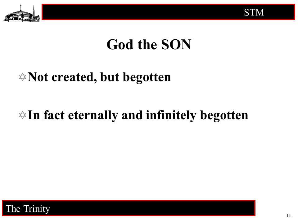 God the SON Not created, but begotten