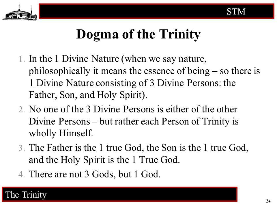 Dogma of the Trinity