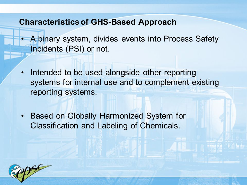 Characteristics of GHS-Based Approach
