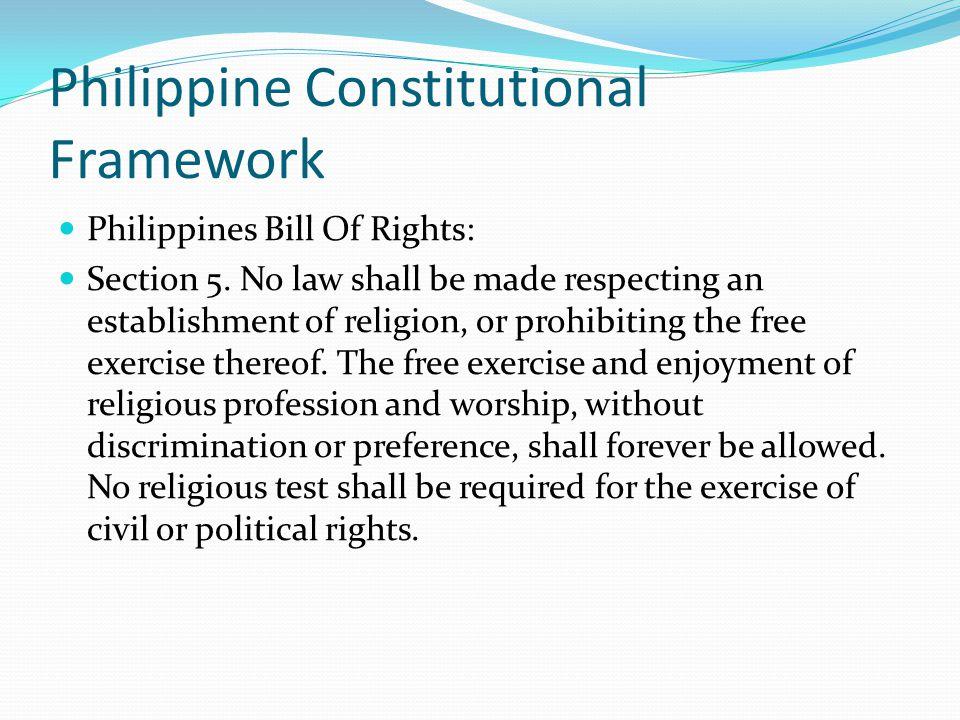 Philippine Constitutional Framework
