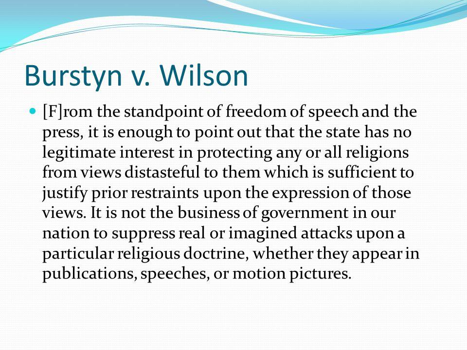 Burstyn v. Wilson