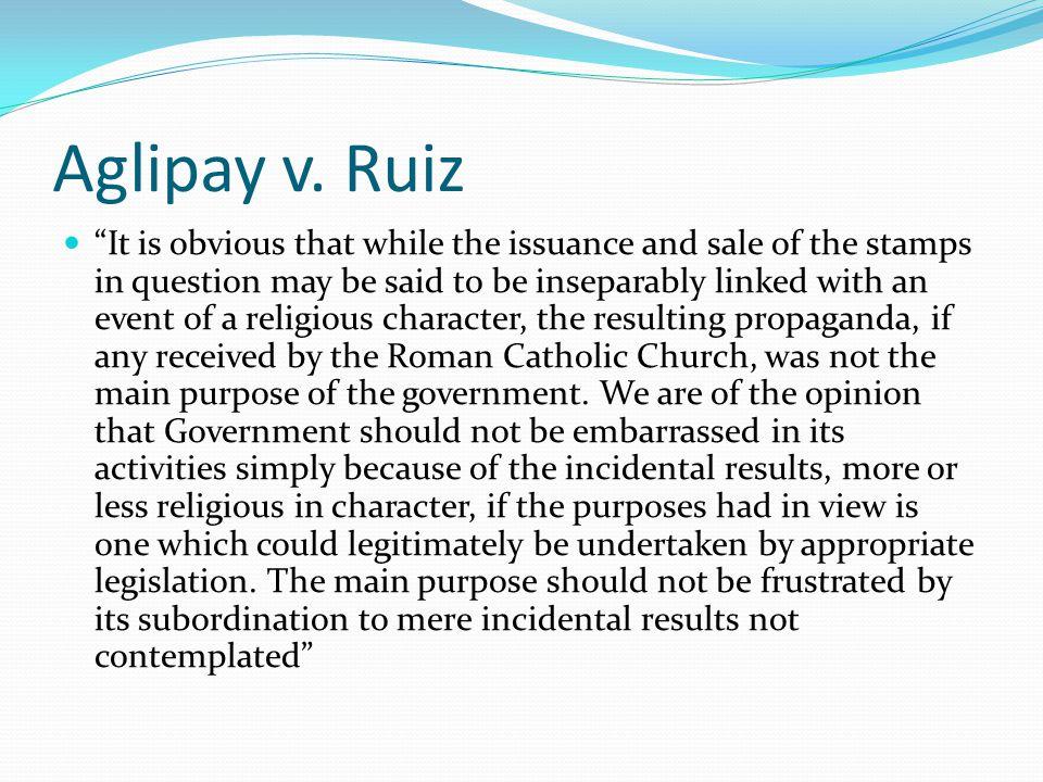 Aglipay v. Ruiz