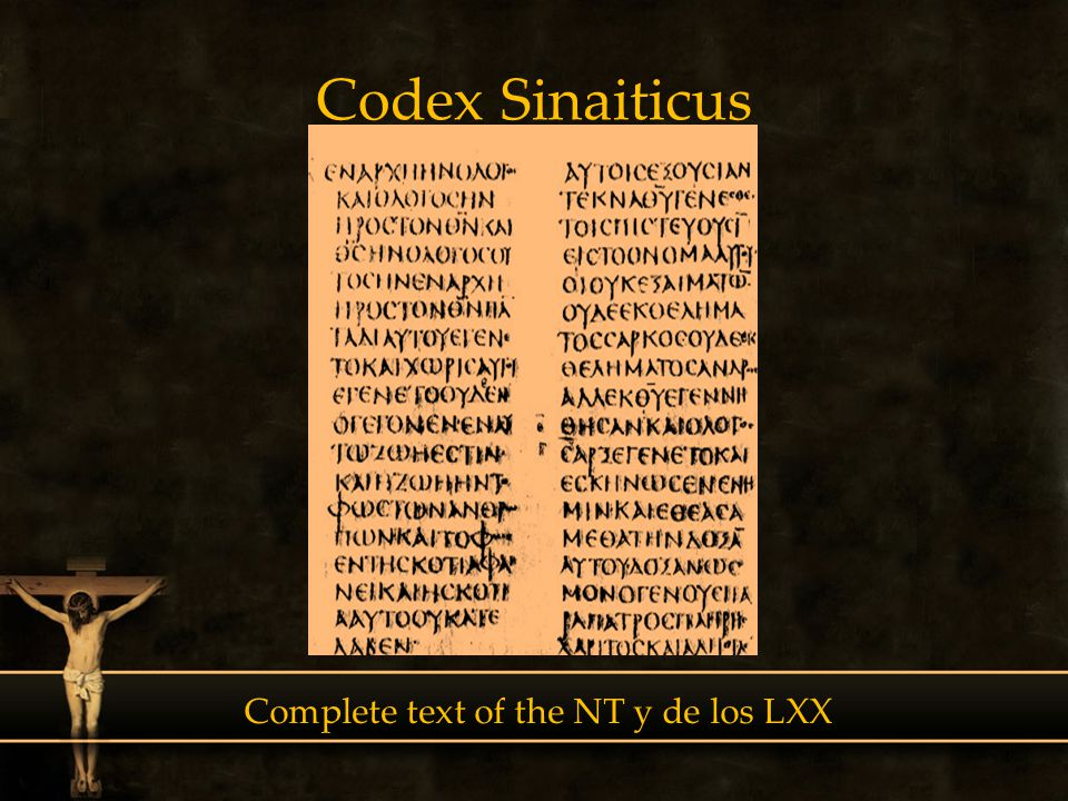 Complete text of the NT y de los LXX