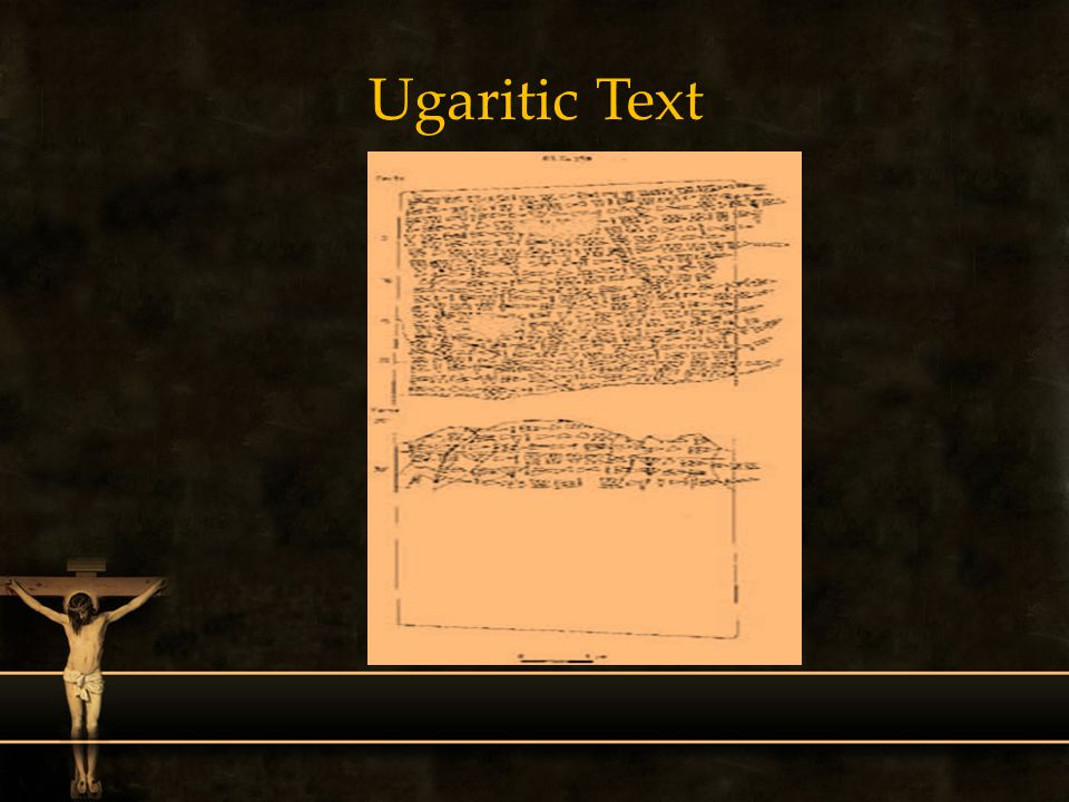 Ugaritic Text