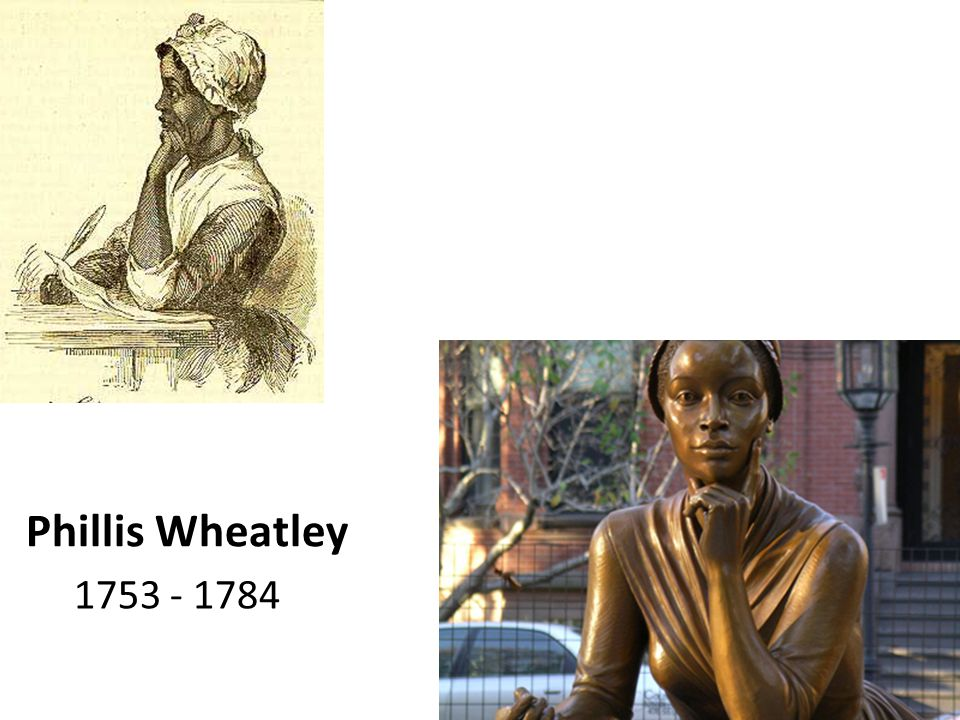 Phillis Wheatley 1753 - 1784
