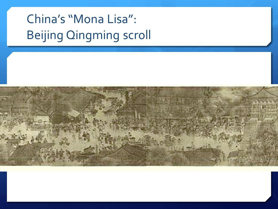China's Mona Lisa : Beijing Qingming scroll