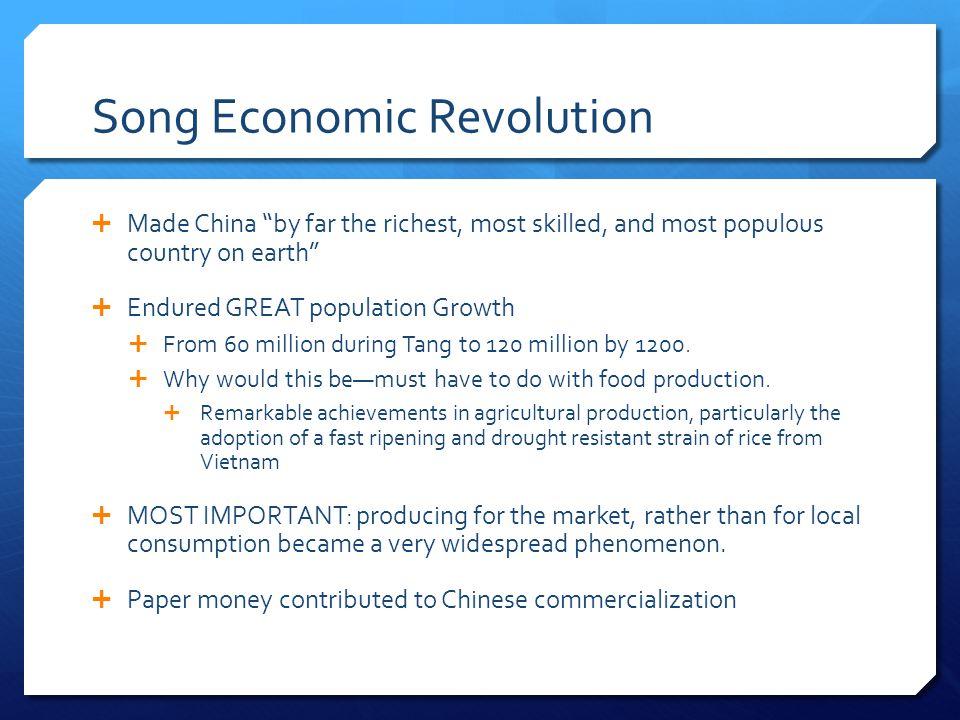 Song Economic Revolution