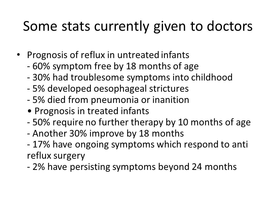 Some stats currently given to doctors