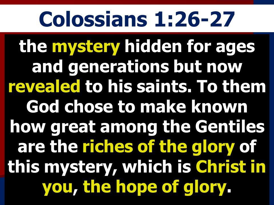 Colossians 1:26-27