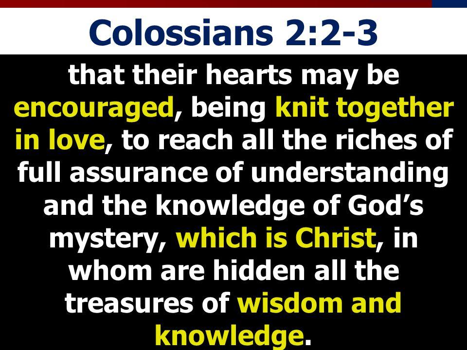 Colossians 2:2-3