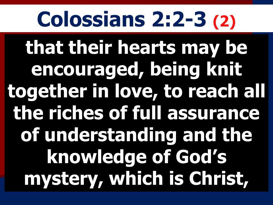 Colossians 2:2-3 (2)
