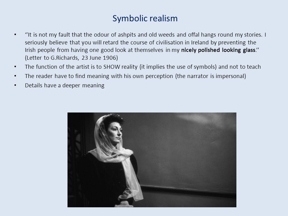 Symbolic realism