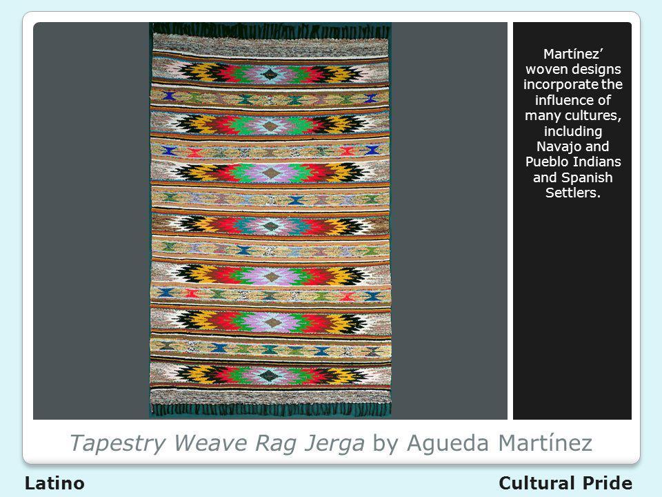Tapestry Weave Rag Jerga by Agueda Martínez