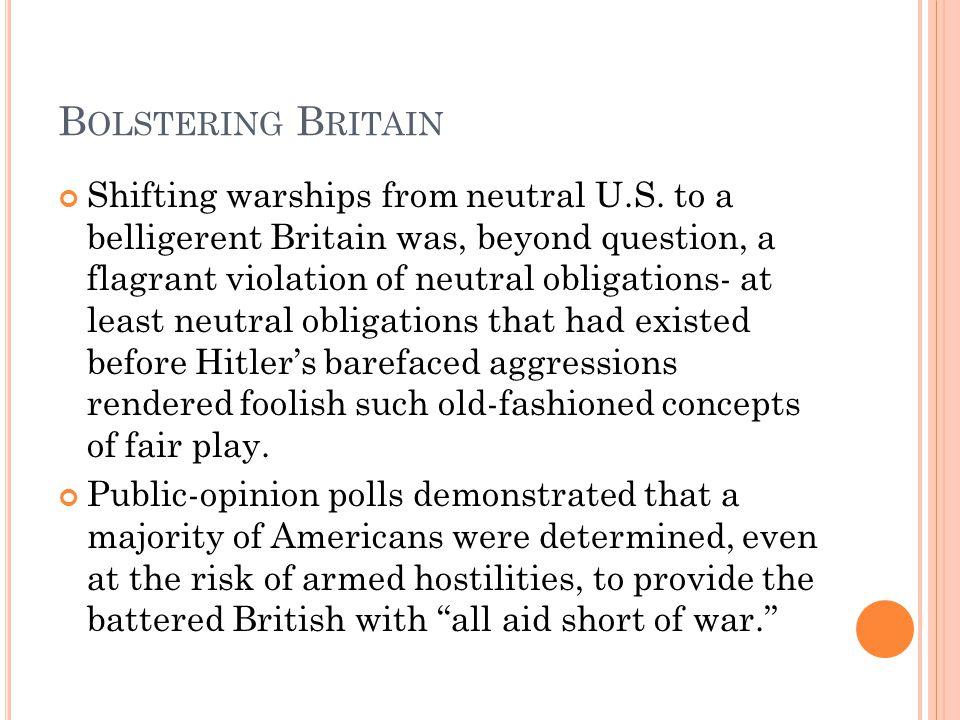 Bolstering Britain