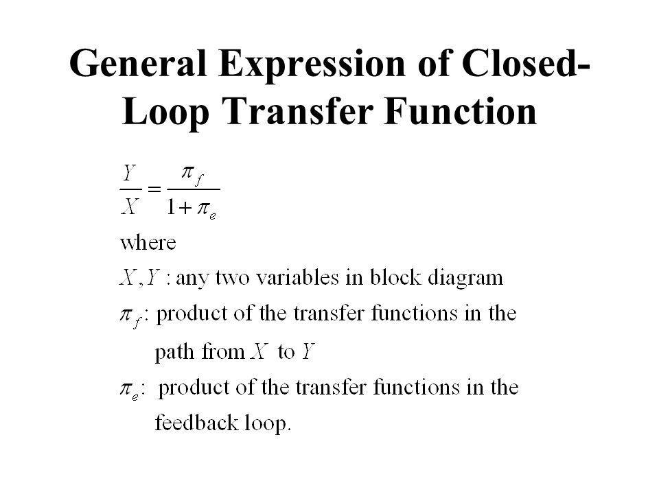 General Expression of Closed-Loop Transfer Function