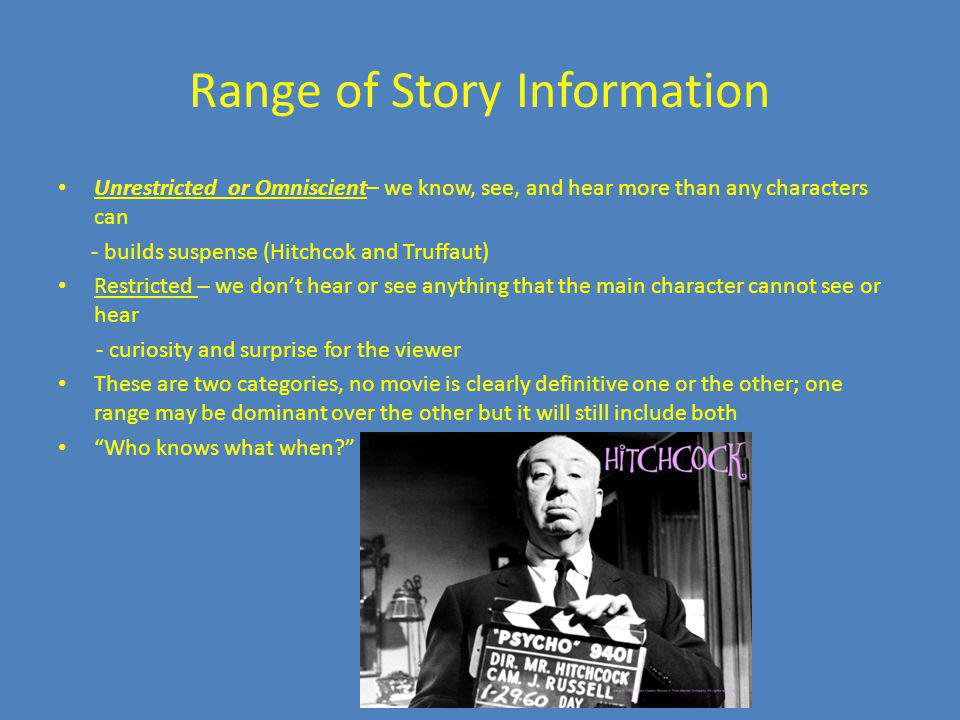 Range of Story Information