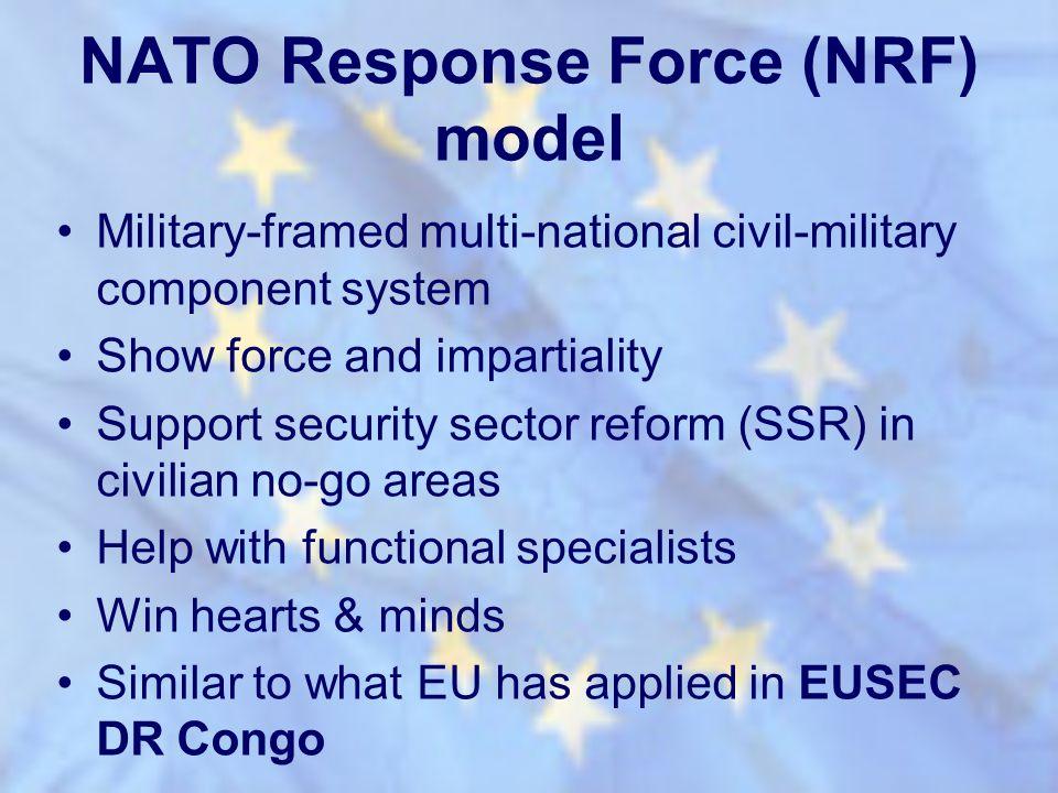 NATO Response Force (NRF) model