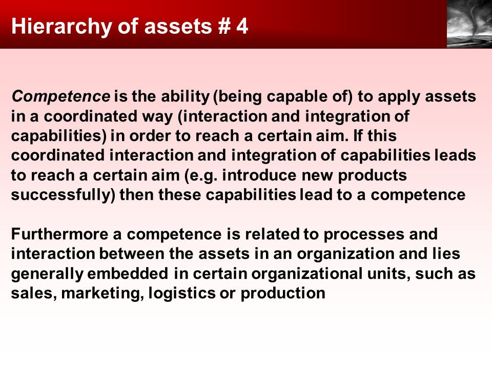 Hierarchy of assets # 4