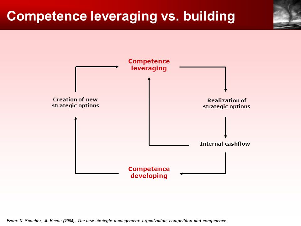 Competence leveraging vs. building