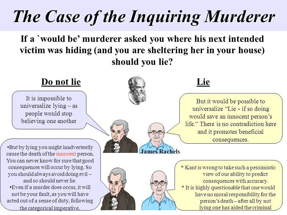 The Case of the Inquiring Murderer