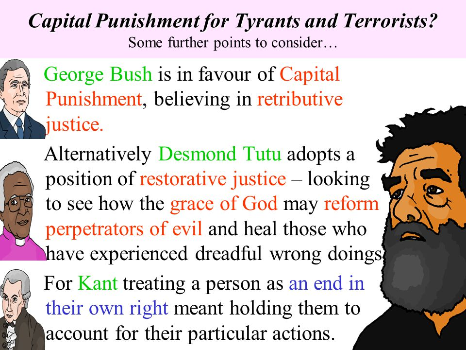 Capital Punishment for Tyrants and Terrorists