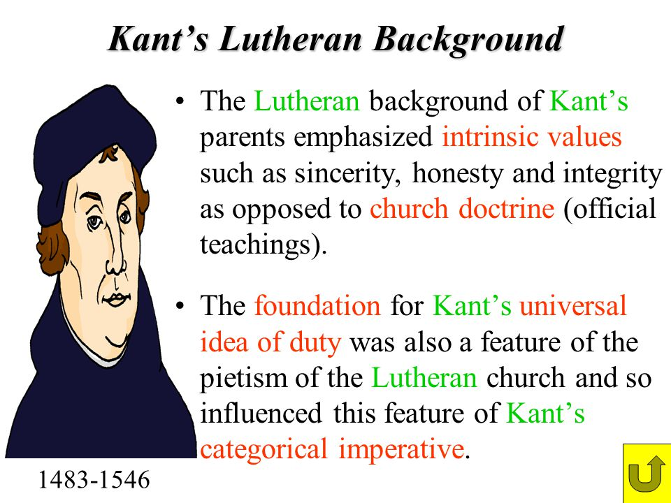 Kant's Lutheran Background