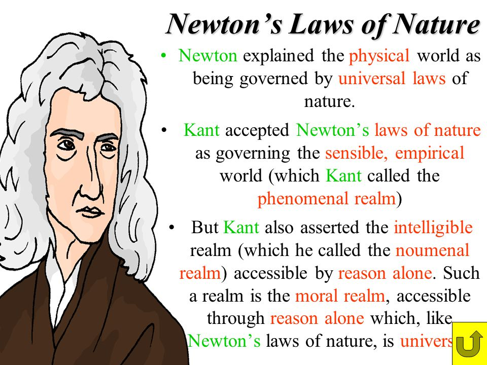 Newton's Laws of Nature