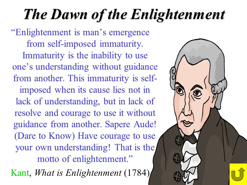 The Dawn of the Enlightenment