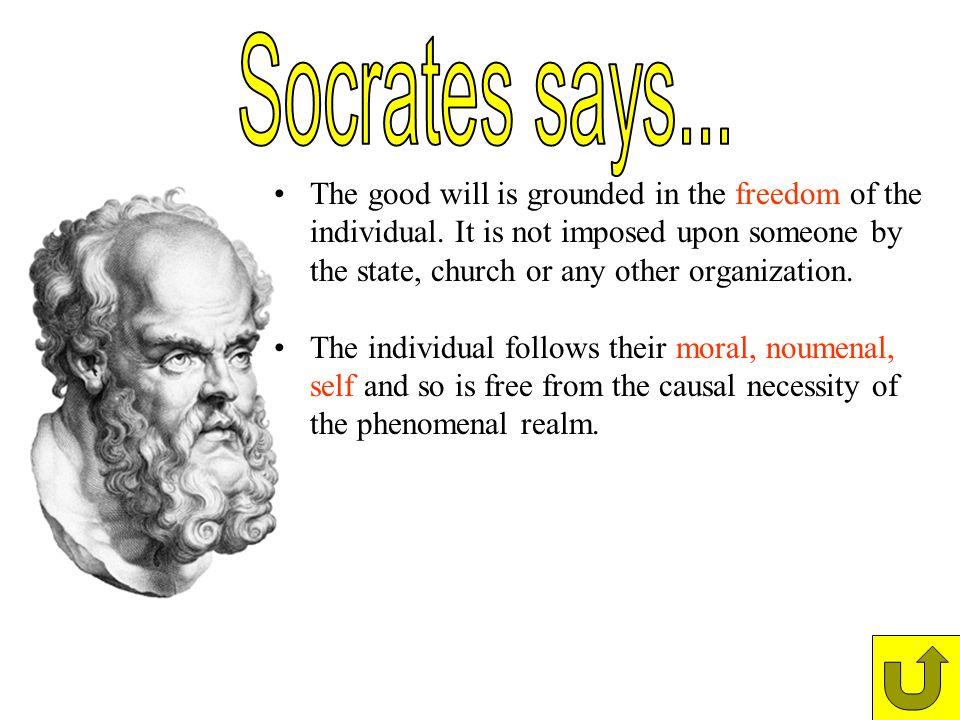 Socrates says...