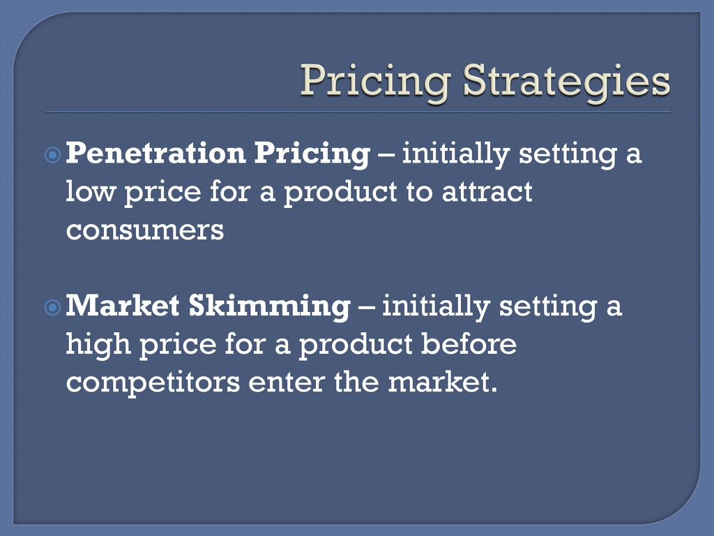 Product, Pricing, Place/Distribution, Promotion - ppt download