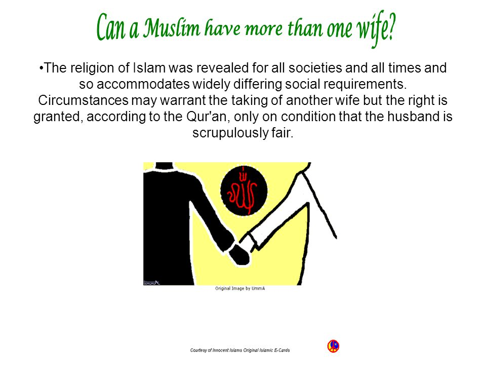 Can a Muslim have more than one wife
