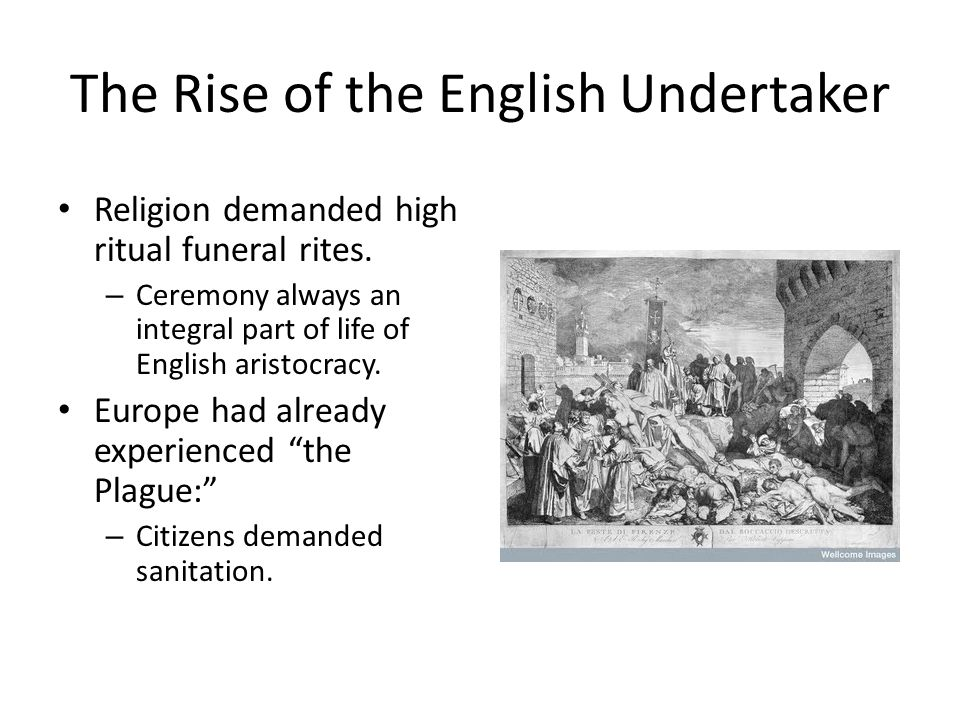 The Rise of the English Undertaker