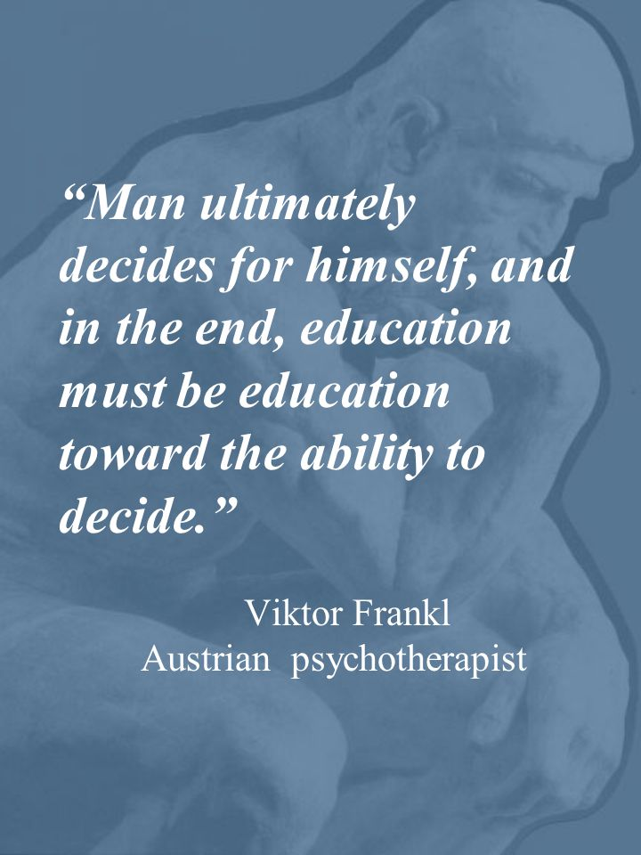 Viktor Frankl Austrian psychotherapist