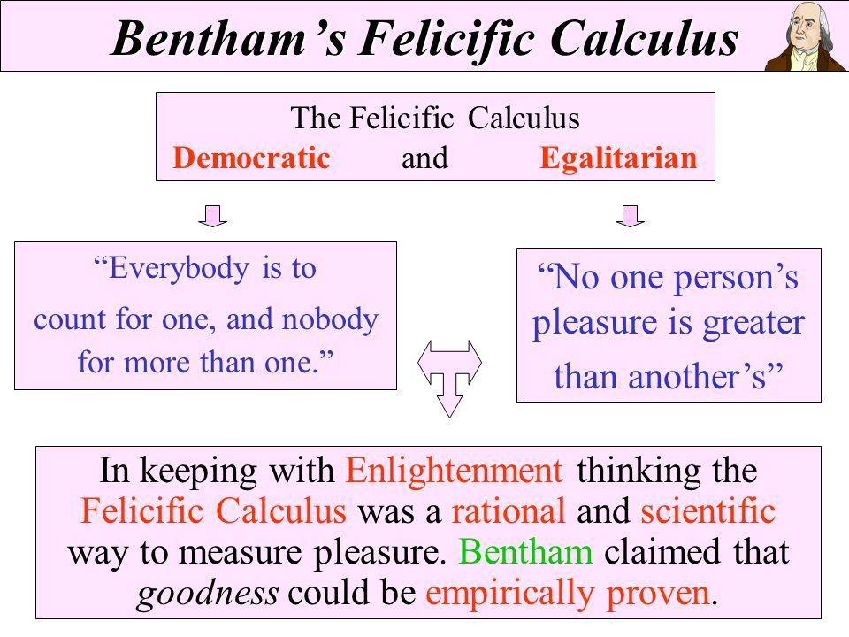 Bentham's Felicific Calculus
