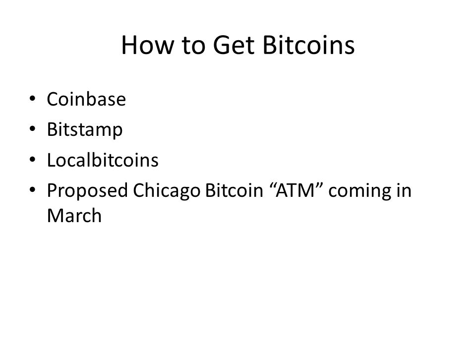 How to Get Bitcoins Coinbase Bitstamp Localbitcoins