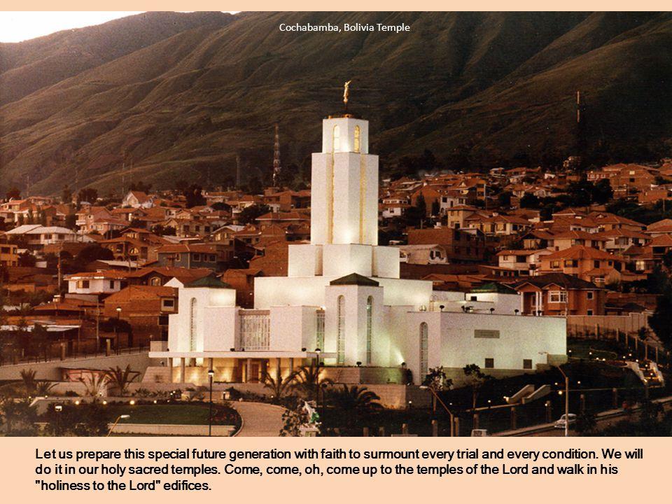 Cochabamba, Bolivia Temple